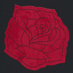 Flash Stitch - Rose (Applique)_image