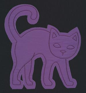 Flash Stitch - Cat (Applique)_image