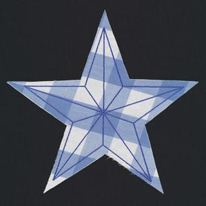 Flash Stitch - Nautical Star (Applique)_image