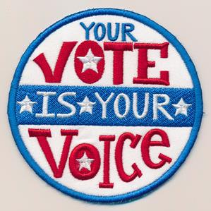Your Vote Is Your Voice (Patch)_image