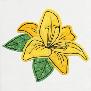 Lively Lily (Applique)_image