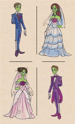 Zombie Wedding (Mix and Match)_image