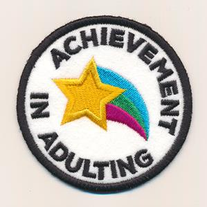 Achievement in Adulting (Patch)_image