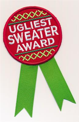 Ugliest Sweater Award (Patch)_image