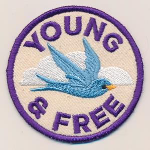 Adventure Merit Badges - Young & Free (Patch)_image