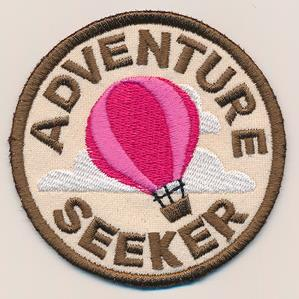 Adventure Merit Badges - Adventure Seeker (Patch)_image