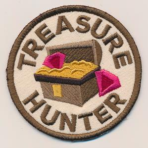 Adventure Merit Badges - Treasure Hunter (Patch)_image