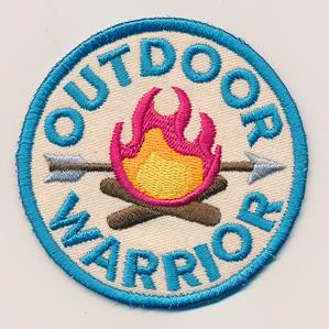 Adventure Merit Badges - Outdoor Warrior (Patch)_image