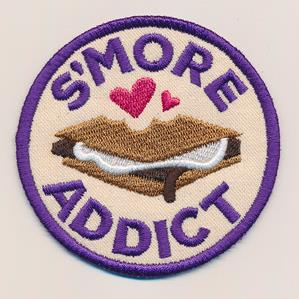 Adventure Merit Badges - S'more Addict (Patch)_image