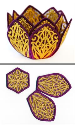 Lotus Candle Wrap (Lace)_image