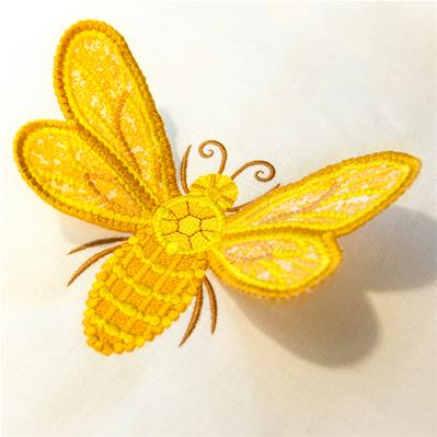 Dimensional Bee (3D Applique)_image