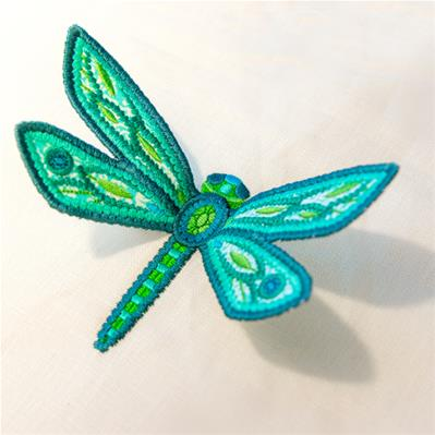 Dimensional Dragonfly (3D Applique)_image