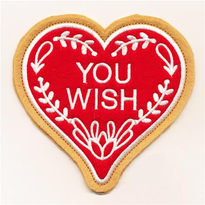 Valentine Cookie - You Wish (In-the-Hoop)_image