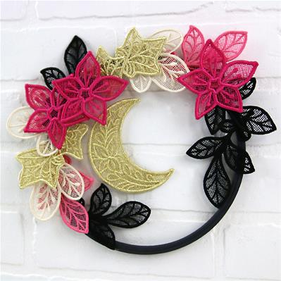 Glam Celestial Wreath (Lace)_image