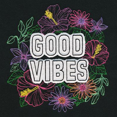 Good Vibes (Trim-Away Applique)_image