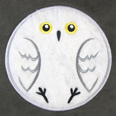 Fluffy Critters Owl (Applique)_image