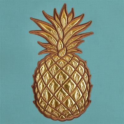 Chic Summer Pineapple (Applique)_image
