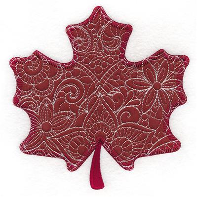 Blooming Maple Leaf (Applique)_image
