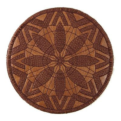 Modern Medallion Coaster (In-the-Hoop)_image