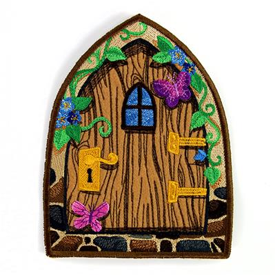 Enchanted Fairy Door (In-the-Hoop)_image